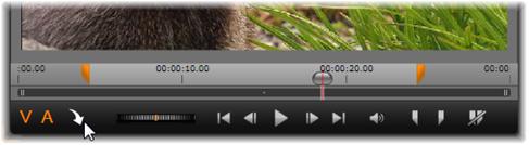 Avid Studio image001 Přidání klipů na časovou osu