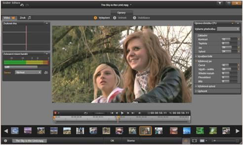 Avid Studio image003 Přehled editace médií