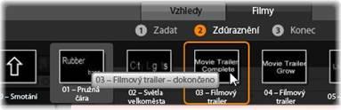 Avid Studio image001 Předvolby filmů