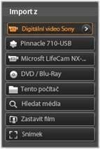 Avid Studio image001 Použití importéru