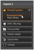 Avid Studio image001 Import z analogových zdrojů