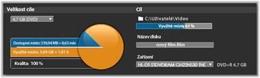 Avid Studio image001 Výstup na disk