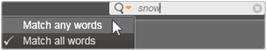 Avid Studio image003 Vælg, hvad der skal vises