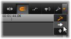 Avid Studio image013 Tidslinjens værktøjsbjælke