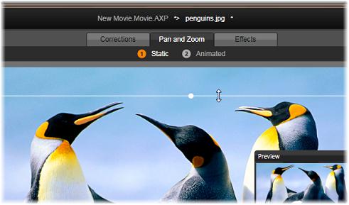 Avid Studio image001 Panorering og zoom