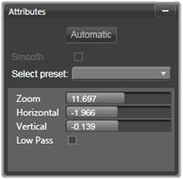 Avid Studio image002 Panorering og zoom
