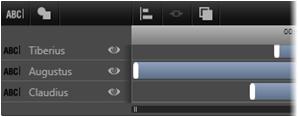 Avid Studio image007 Arbejde med Listen over lag