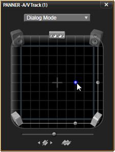 Avid Studio image007 Tidslinjens lydfunktioner