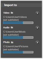 Avid Studio image001 Menuen Importer Til