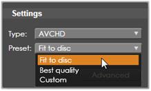 Avid Studio image002 Udkørsel til diskmedier