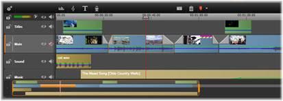 Avid Studio image001 Der Filmeditor und der Disc Editor