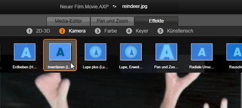 Avid Studio image001 Effekte in den Media Editoren