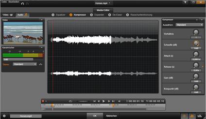 Avid Studio image001 Der Audio Editor
