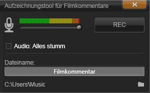 Avid Studio image002 Das Filmkommentar Tool