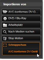 Avid Studio image001 Schnappschuss