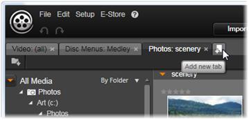 Avid Studio image001 Location tabs