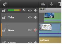 Avid Studio image001 The timeline track header