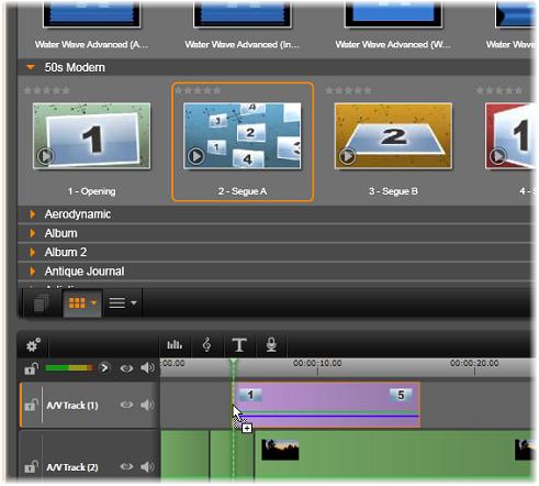Using Montage templates | Avid Studio