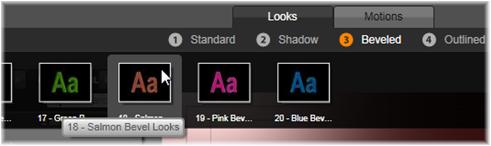 Avid Studio image001 Preset Looks