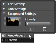 Avid Studio image001 Background settings
