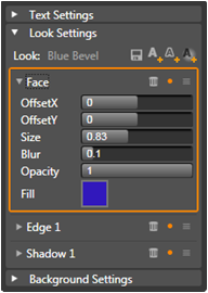 Avid Studio image001 Look settings