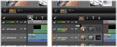 Avid Studio image002 Timeline audio functions