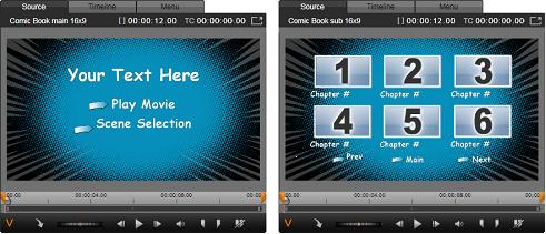 Avid Studio image001 Disc menus