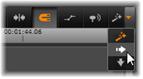 Avid Studio image013 La barra de herramientas de la línea de tiempo