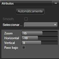 Avid Studio image002 Toma panorámica y zoom