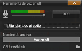 Avid Studio image002 La herramienta de voz en off