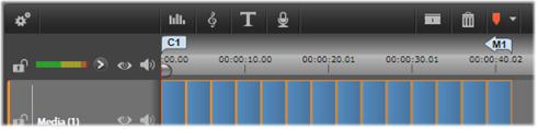 Avid Studio image001 Marcadores de menú de la línea de tiempo