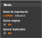 Avid Studio image004 El panel Modo