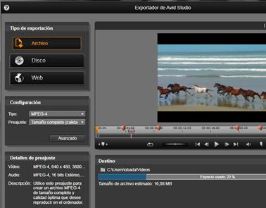 Avid Studio image002 El Exportador