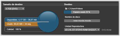 Avid Studio image001 Exportación a soportes de disco