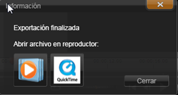 Avid Studio image002 Exportar a un archivo