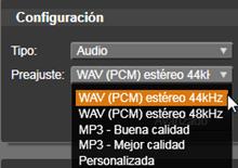Avid Studio image004 Exportar a un archivo