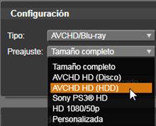 Avid Studio image005 Exportar a un archivo