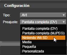 Avid Studio image006 Exportar a un archivo