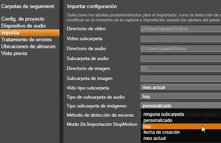 Avid Studio image002 Configuración