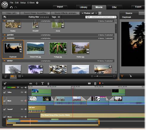 Avid Studio image001 Elokuvan muokkaaja