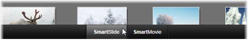 Avid Studio image001 SmartSlide et SmartMovie