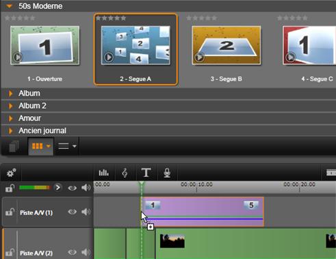 Avid Studio image001 Utilisation des modeles de montage
