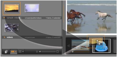 Avid Studio image002 Utilisation des modeles de montage
