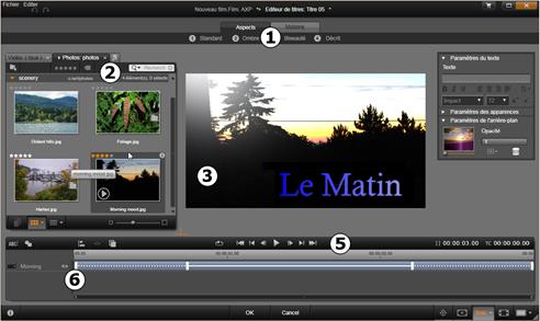 Avid Studio image001 L'éditeur de titres