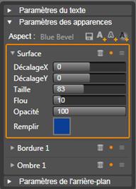 Avid Studio image001 Paramètres d'aspect