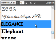 Avid Studio image004 Texte et paramètres textuels
