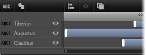 Avid Studio image007 Utiliser la liste des calques
