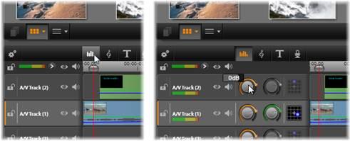 Avid Studio image002 Fonctions audio du plan de montage
