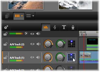 Avid Studio image006 Fonctions audio du plan de montage