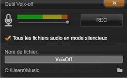 Avid Studio image002 Loutil voix off